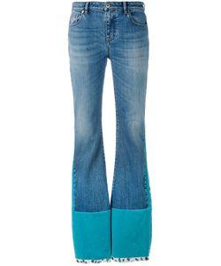 Roberto Cavalli | Velvet Panelled Jeans