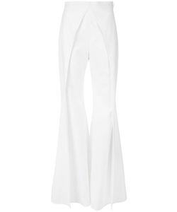 Balmain | Laye Flare Leg Trousers 38 Polyurethane/Acetate/Viscose