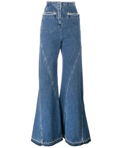ESTEBAN CORTAZAR | High Waisted Flared Jeans