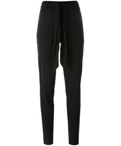 Barbara Bui | Twisted Belt Skinny Trousers 40 Polyamide/Viscose