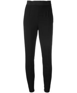 Dolce & Gabbana | Piped Skinny Trousers 40 Silk/Spandex/Elastane/Virgin