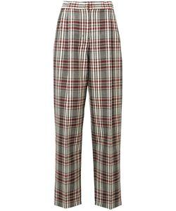 Derek Lam | High-Rise Plaid Trousers Size 40