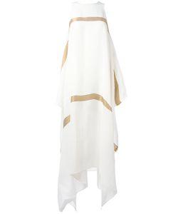 UMA WANG   Asymmetric Long Dress Size Medium