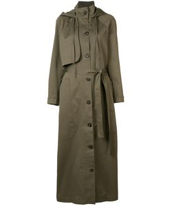 Josh Goot | Utility Coat Small Cotton/Spandex/Elastane