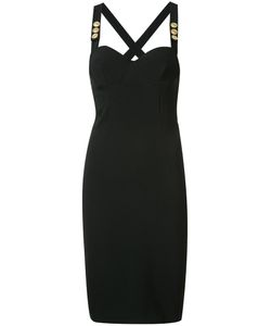 Pierre Balmain | Cross Back Bustier Dress Size