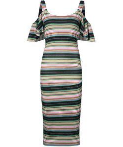Nicole Miller   Striped Dress Size Medium