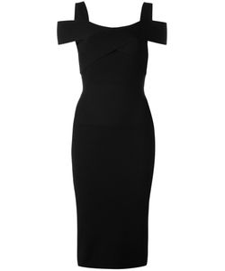 Tom Ford | Wrap Detail Midi Dress Medium Polyester/Viscose