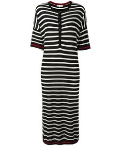 Chinti And Parker | Striped Knitted Dress Xs Merino