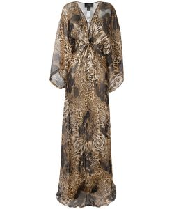 Philipp Plein | Patterned Long Dress Size Small