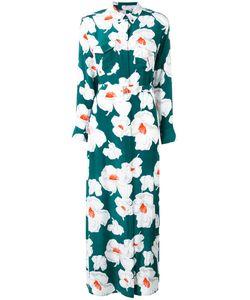 Equipment   Print Maxi Dress Size Xs