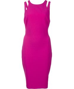 LIKELY | Shoulders Detailing Fitted Dress 12 Polyester/Rayon/Spandex/Elastane