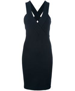 Pierre Balmain | V-Neck Dress 40 Cotton/Polyamide/Spandex/Elastane