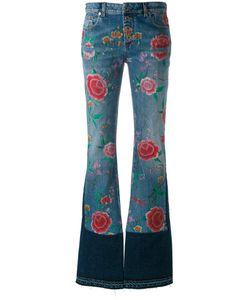 Roberto Cavalli | Print Flared Jeans