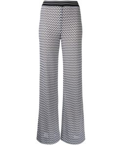 Missoni | Zig-Zag Fla Trousers 38 Cotton/Nylon/Polyester/Viscose