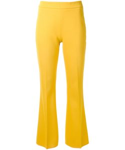 Giambattista Valli | Tailo Fla Trousers 44 Cotton/Viscose/Spandex/Elastane/Acetate