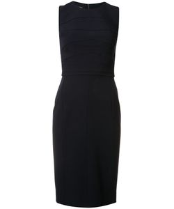 Narciso Rodriguez | Stitching Detail Fitted Dress 38 Silk/Spandex/Elastane/Wool
