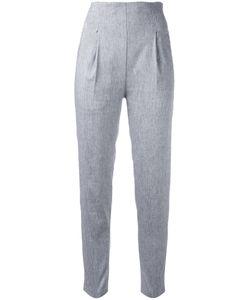 Erika Cavallini | Mariory Pants 42 Cotton/Linen/Flax/Polyester/Spandex/Elastane