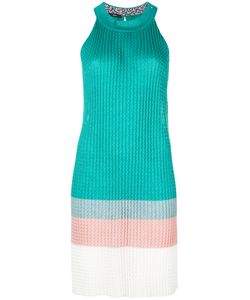 Diesel | Ribbed Colour Block Dress Xs Viscose/Polyester