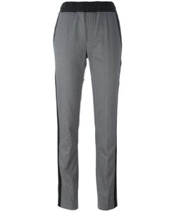 A.F.Vandevorst | Contrast Stripe Trousers 34 Cotton/Polyester