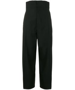 JACQUEMUS | Cropped High Waisted Trousers Size 38