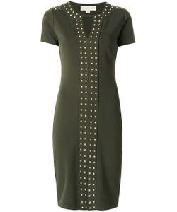 Michael Michael Kors | Studded Short-Sleeved Dress