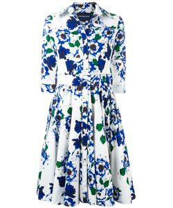 Samantha Sung | Print Flared Dress