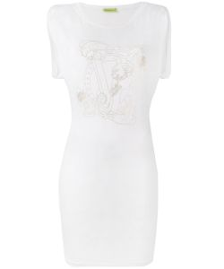 Versace Jeans | Logo Print Fitted Dress