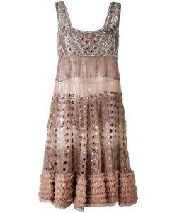 Amen | Декорированное Мини-Платье