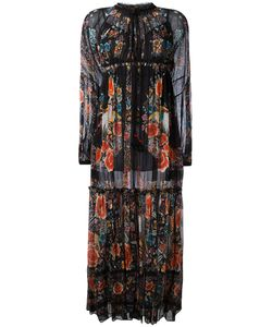 Roberto Cavalli | Hippy Long Dress 42 Cotton/Silk