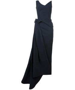 MATICEVSKI | Strapless Long Gown 12 Nylon/Cotton/Silk/Spandex/Elastane