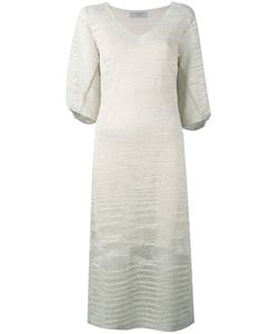D.exterior | Knitted V-Neck Dress S