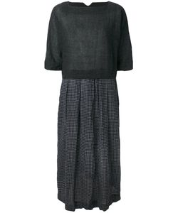 DANIELA GREGIS | Pleated Embroidered Dress Women