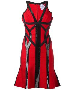 Hervé Léger | Zahara Sequinned Dress Small