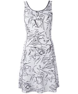 Kenzo | Sketch Face Dress Small Cotton/Viscose
