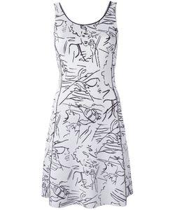Kenzo | Платье С Графическим Принтом