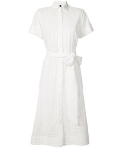 Lisa Marie Fernandez | Belted Shirt Dress