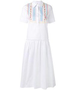 Miahatami   Платье-Рубашка С Вышивкой