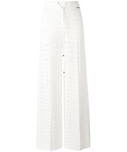 Twin-set | Knitted Straight Trousers Medium Viscose/Polyamide