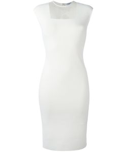 Akris Punto | Sheer Panel Fitted Dress