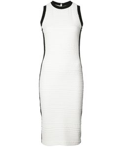 Nicole Miller | Textu Midi Dress Large Nylon/Spandex/Elastane/Cotton