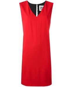 Fausto Puglisi | V Neck Dress 44 Viscose/Spandex/Elastane/Silk/Acetate