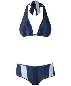 AMIR SLAMA   Panelled Bikini Set G Elastodiene