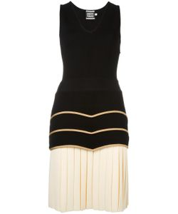Fausto Puglisi | Drop Waist Pleated Dress