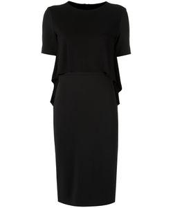 GLORIA COELHO   Round Neck Dress G Polyester/Viscose/Elastodiene