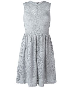Red Valentino | Lace Fla Dress 40 Polyamide/Polyester/Cotton/Silk