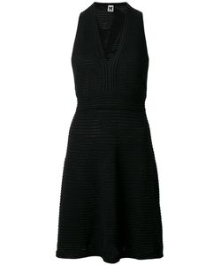 Missoni | Fitted V-Neck Dress 42 Viscose/Polyester/Cotton