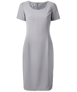 Armani Collezioni | Smart Scoop Neck Dress Size 48