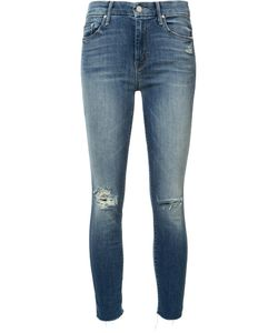 Mother | Cropped Skinny Jeans 27 Cotton/Polyester/Sinflex