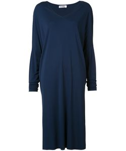 Jil Sander | Loose Fit V-Neck Dress Size 36