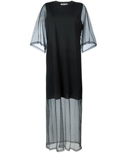 Mcq Alexander Mcqueen | Sheer Sleeve T-Shirt Dress Small